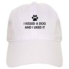 I kissed a dog and I liked it Baseball Cap