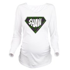Shaw Superhero Long Sleeve Maternity T-Shirt