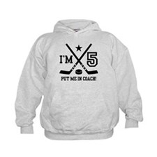5 Year Old Hockey Hoodie