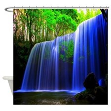 Paradise Waterfall Shower Curtain