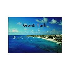 Grand Turk  Rectangle Magnet