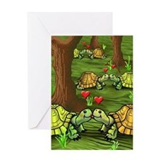 Turtle Valentines Day Cards (10 Pk) Greeting Cards