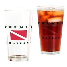 Phuket Dive Drinking Glass