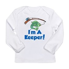 Im A Keeper Fish Long Sleeve T-Shirt