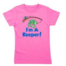 Im A Keeper Fish Girl's Tee
