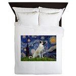 Starry-AnatolianShep 2 Queen Duvet