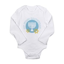 My First Hanukkah Body Suit
