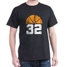 Basketball Number 32 Player Gift T-Shirt