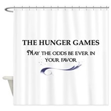 THEHUNGERGAMES maytheodds2 copy2 Shower Curtain