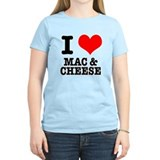 I Heart (Love) Mac & Cheese T-Shirt