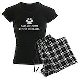 Cat Women's Pajamas Dark