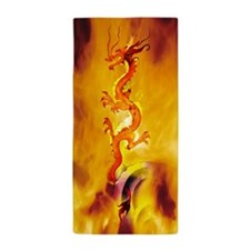 This Dragon's On Fire! Cool Beach Towel