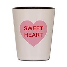Sweet Heart - Candy Heart Shot Glass