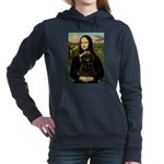 Card-Mona-Affen3-drkr.png Hooded Sweatshirt