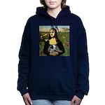 TILE-Mona-ACDpup.PNG Hooded Sweatshirt