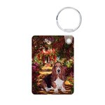 card-Path-Basset1.png Aluminum Photo Keychain
