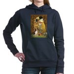 3-5.5x7.5-Kiss-Beagle1.png Hooded Sweatshirt