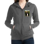 8x10-Mona-BordCollie-REV.PNG Zip Hoodie
