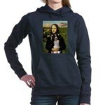 8x10-Mona-BordCollie-REV.PNG Hooded Sweatshirt