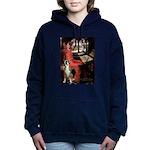 TILE-Lady-Boxer1up.png Hooded Sweatshirt