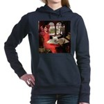 Lady (S) - Cairn Terrier 4.png Hooded Sweatshirt