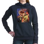 TILE-Angel3-Cav-Blk-Tan.png Hooded Sweatshirt