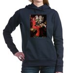 TILE-Lady-Cav-Blk-Tan.png Hooded Sweatshirt