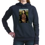 MONA-Cav-Ruby7.png Hooded Sweatshirt