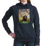 TILE-Spring-Cav-Blk-Tan.png Hooded Sweatshirt