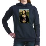 CARD-Mona-Crested1.png Hooded Sweatshirt