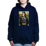 MONA-Cocker-Blk-RedC.png Hooded Sweatshirt