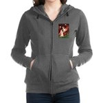 ANGEL1-Cocker-Blk-RedC.png Zip Hoodie