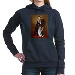 LINCOLN-Collie-Tri3.png Hooded Sweatshirt