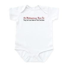 Old Mathematicians Infant Bodysuit