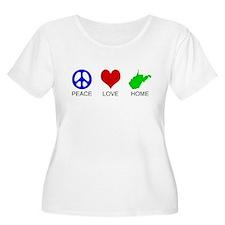 Peace Love Home T-Shirt