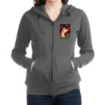 Dalmatian 1 - Seated Angel.png Zip Hoodie