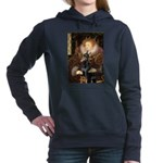 MP-QUEEN-Dobie1.png Hooded Sweatshirt