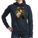 WINDFLOWERS-Dobie1.png Hooded Sweatshirt