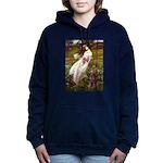 WINDFLOWERS-Dobie-Red-8.png Hooded Sweatshirt