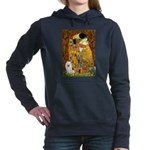 Eskimo Spitz 1 - The Kiss.png Hooded Sweatshirt