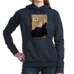 Eskimo Spitz 1 - Whistlers Mother.png Hooded Sweat