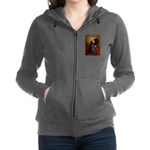 Flat Coated Retriever 1 - Lincoln.png Zip Hoodie