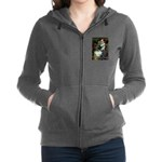 Flat Coated Retriever 1 - Ophelia.png Zip Hoodie