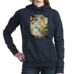 Venus - White German Shep Hooded Sweatshirt