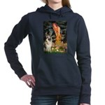 MIDEVE-GShep9.png Hooded Sweatshirt