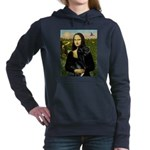 16x20-Mona-BlkGDane-nat Hooded Sweatshirt