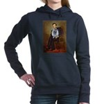 Lincoln - Keeshond (F).png Hooded Sweatshirt
