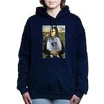 Mona Lisa - Keeshond (F).png Hooded Sweatshirt