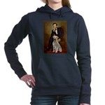 Lincoln-Yellow Lab 7.png Hooded Sweatshirt