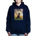 Spring - Chocolate Lab 11.png Hooded Sweatshirt